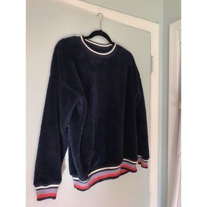 Aerie fuzzy sweater/sweatshirt